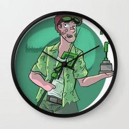 arkham eddie Wall Clock