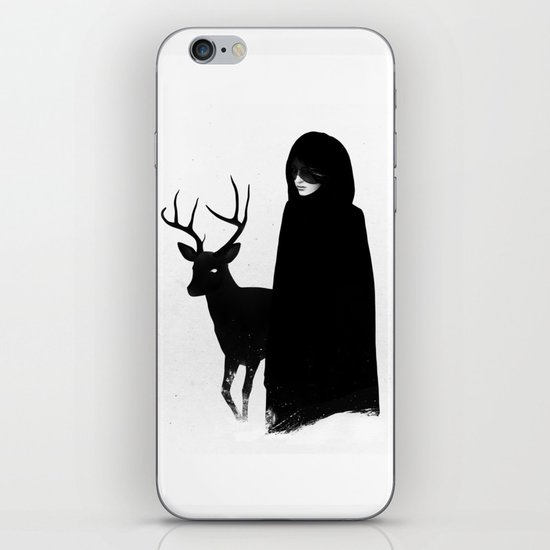 Absentia in white iPhone & iPod Skin