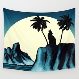 Wolf Bay Wall Tapestry