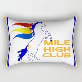 Mile High Club Rectangular Pillow
