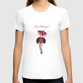 Burlesque Girl T-shirt