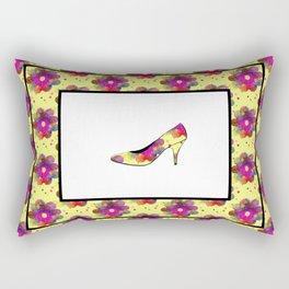 Never Enough Shoes Rectangular Pillow