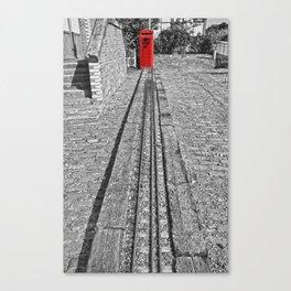 Train Line Canvas Print