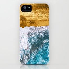 Tropical XVI - Golden Beach iPhone Case
