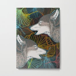 whipped conversation Metal Print