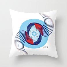 Fleuron Composition No. 125 Throw Pillow