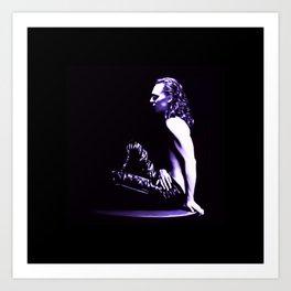 Loki - A Study in Black/White Art Print