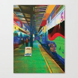 Sounder Platform Canvas Print
