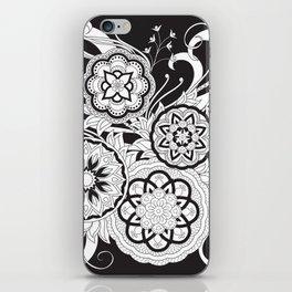 zen-like floral composition 3 iPhone Skin