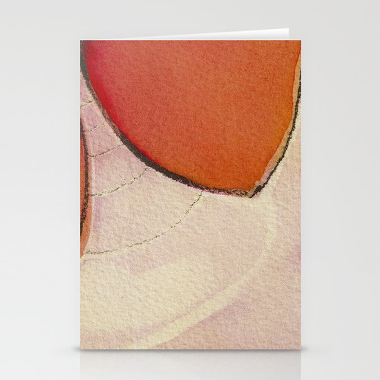 Tapas Abstract 1 Stationery Cards
