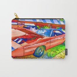 Classic red car Carry-All Pouch