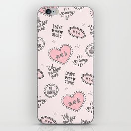 anti-valentines iPhone Skin