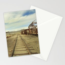 Forgotten trains Stationery Cards