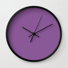 Dewberry Color Accent Wall Clock