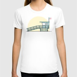 Lifeguard Tower T-shirt