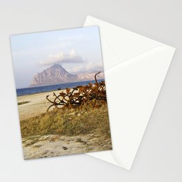 Sicilian Abandoned Port with Anchors Stationery Cards