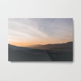 goodbye blue sky Metal Print