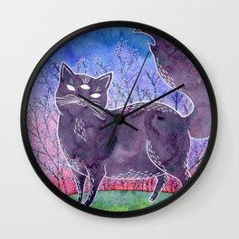 Gwendolyn the Psychic Cat Wall Clock