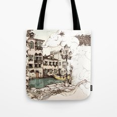 Vivaldi's morning in Venice Tote Bag