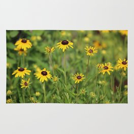 Black Eyed Susans Rug