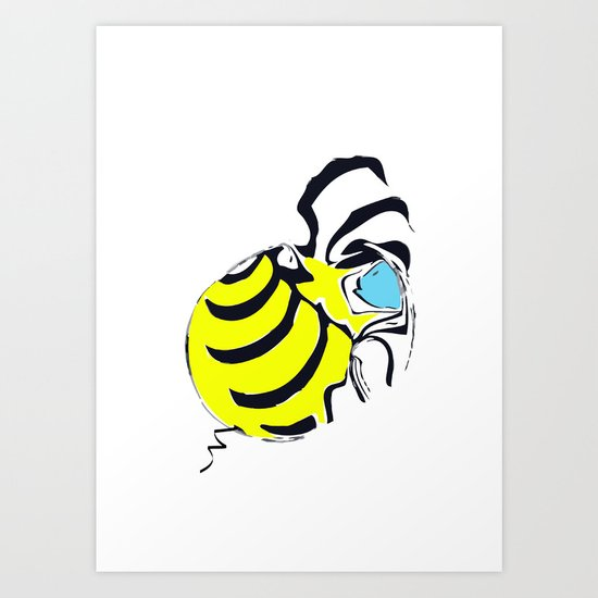 old bee Art Print