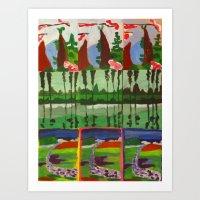 Landscape Variation Art Print