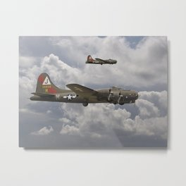 B17 - 511 Squadron Metal Print