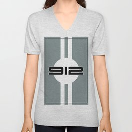 912 Racing Design Unisex V-Neck