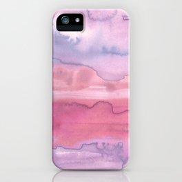 Melting Sunrise #1, Rose Magnifique iPhone Case