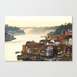 Sunset over the Douro Canvas Print