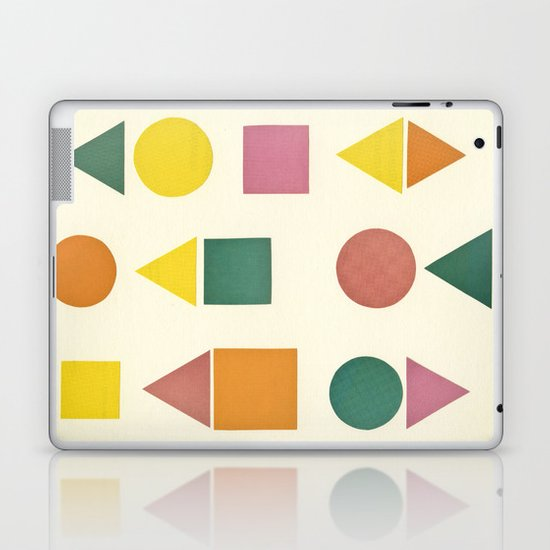 Shape Sorter Laptop & iPad Skin