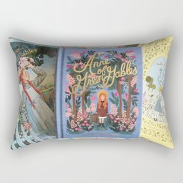 Anne of Green Gables Books Rectangular Pillow