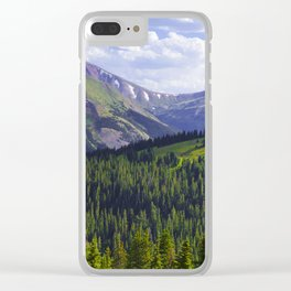 Continental Haze Clear iPhone Case