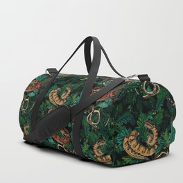 Dangers in the forest Duffle Bag