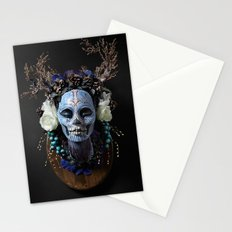 Winter Muertita Front Stationery Cards