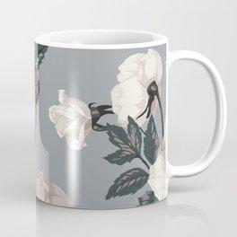 Floral, Romantic, Roses, Flowers, Coffee Mug
