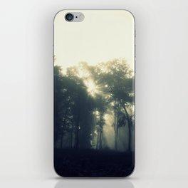 Where Sunbeams Touch the Ground Fairies Dwell iPhone Skin