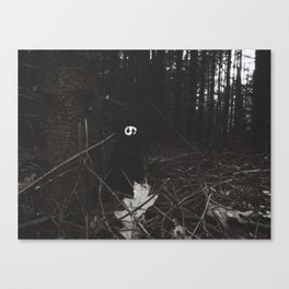 Woe in the dark forest~ Canvas Print