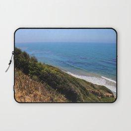 California Pacific Coastal Cliffs Laptop Sleeve