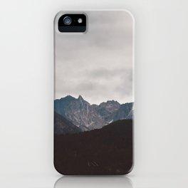Beyond Shadows iPhone Case