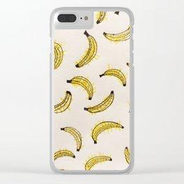 Buh-nan-uh Clear iPhone Case