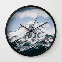 Mount Hood X Wall Clock