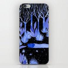 Space garden iPhone & iPod Skin