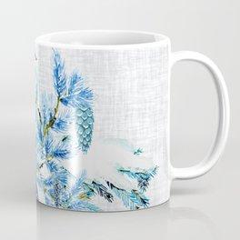 WINTER BLUE JAYS Coffee Mug