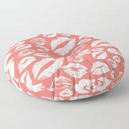 Lip 24 Living Coral Floor Pillow