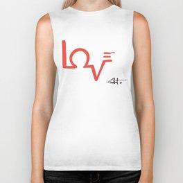 Love = Service Biker Tank