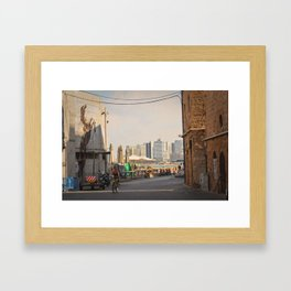 Friday in Jaffa 2 Framed Art Print