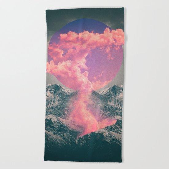 Ruptured Soul  Beach Towel