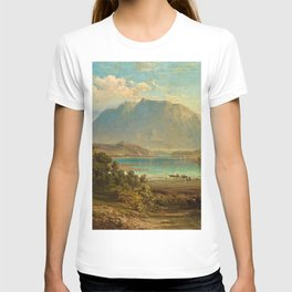 A view of Konigsee near Munich, Germany by Frederick Lee Bridell T-shirt