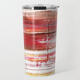 Lavender blush abstract watercolor Travel Mug